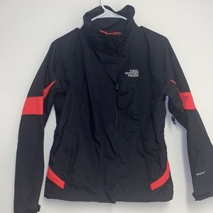 The north face hyvent ski shell jacket